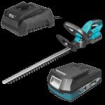 RINKINYS: Akumuliatorinės gyvatvorių žirklės 18V 510MM, DEDRA SAS + ALL Akumuliatorius 4.0Ah DED7034 ir įkroviklis DED7038 (DED7092+)