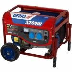 Benzininis generatorius 3,2kW Dedra DEGB3600K