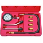 Benzininis kompresijos matuoklis su antgaliais | 8 vnt. (JC-8015)