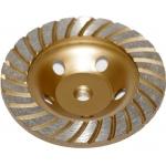 Deimantinis šlifavimo diskas | lėkštės tipo | turbo | M14x125 mm (DB0125A)