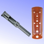 Karūnėlė deimantinė 6mm akmens masiai HEX DED1571