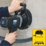 Betono frezavimo-šlifavimo įrenginys 1,5kW Dedra DED7747