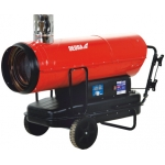 Dyzelinis šildytuvas su degimo produktų nuvedimu ir termostatu 50 kW Dedra DED9956TK