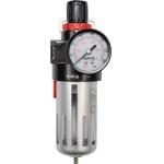 """Drėgmės filtras su reguliatoriumi ir manometru 1/2"""" """"Yato"""" (YT-2383)"""