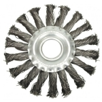Šepetys disko tipo | stambus plienas | 125 x 12 x 22.2 mm (ES742125-WN)