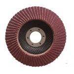 Šlifavimo diskas lapelinis | išgaubtos formos | P80 | 125X22,2 mm (ES814080-WN)
