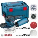 Ekscentrinis šlifuoklis BOSCH GEX 125-150 AVE + priedai