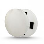 Elastingų putų diskas baltas 400x50mm DED77672B