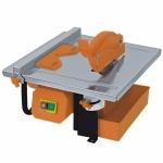 Elektrinės plytelių pjovimo staklės 450W diskas 180mm, darbastalio mat. 330x360mm