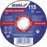 Abrazyvinis pjovimo diskas metalui 115x1,0x22,2
