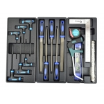 Profesionali įrankių spintelė | 272 įrankiai | 7 stalčiai (G10830)