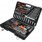 Galvučių, replių, raktų ir kitų įrankių XXL komplektas 225 vnt. (58693)