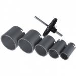 Gręžimo karūnėlės volframinės 34, 43, 53, 67, 73mm (DED1517)