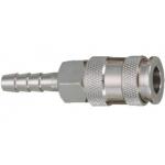 Greita jungtis žalvarinė 8mm (lizdas) PROFI (S31-25SHA)