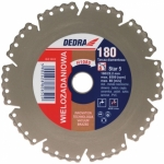 Diskas deimantinis segmentinis Five Star saus./šlap. pj. 115x22.2mm H1082