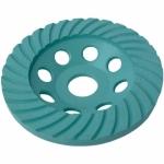 Deimantinis šlifavimo diskas TURBO 125x6x8x22.2mm H1201