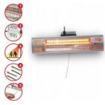 Infraraudonujų spindulių šildytuvas 1500W (DA-IR1500)