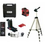 KAPRO ProLaser 3D+SET su imtuvu, laikikliu, trikoju ir lagaminu 3-360 Lazerinis nivelyras 28-883N+SET
