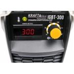Suvirinimo inverteris IGBT 300A/MMA, 230V, LCD (KD1852)