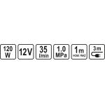 Kompresorius automobilinis 12V / 120W (82107)