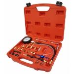 Kuro ir tepalo slėgio / spaudimo matuoklis su adapteriais (B100117-WN)
