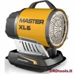 Nešiojamas IR spindulių šildytuvas MASTER XL 6 17 KW