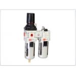 Oro srauto reguliatorius su drėgmės filtru ir tepaline 1/2'', 300l./min (AC4010-04D)