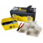 Plastiko remonto sistema/prietaisas | + 600 vnt kniedžių (HS08A-WN)