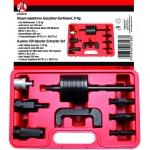 Purkštukų iškalėjų rinkinys su atbuliniu plaktuku ir adapteriais (62636-WN)