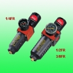 1/2'' Oro srauto reguliatorius su drėgmės filtru (S-2000FR-1/2)
