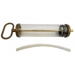 Švirkštas skystam tepalui skaidrus | 400 ml (SG400)