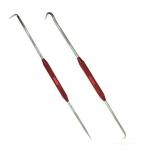 Kabliukų rinkinys | dvipusiai | žiedų / šlangelių / spyruoklių nuėmimui | 220 mm | 2 vnt. (SK32942-WN)