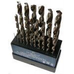 Grąžtų metalui rinkinys HSS | 1-13 mm | 25 vnt. (SK38215-WN)