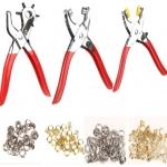 Skylių darymo ir kniedijimo replių rinkinys su kniedėmis 128vnt (FT001002)