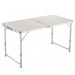 Sulankstomas stalas / prekystalis (aliuminis) reguliuojamas aukštis (LC01-WN)