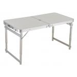 Sulankstomas stalas / prekystalis (aliuminis) kvadratinis vamzdis | reguliuojamas aukštis (LC02-WN)