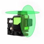 TLL 2-360CG + M5 Lazerinis nivelyras 2x360 žalių spindulių+Universalus magnetinis laikiklis TURAN