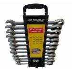 Terkšlinių raktų rinkinys 8-19 mm, 12vnt. (SK5000-WN)