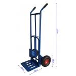 Transportavimo vėžimėlis 270kg, mėlynas (M80087)
