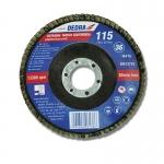 Vėduoklinis šlifavimo diskas 115x22,2mm, GR60 F20060