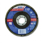 Vėduoklinis šlifavimo diskas 115x22,2mm, GR120 (F20120)