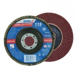 Vėduoklinis šlifavimo diskas 115x22,2mm, GR36 (F20036)