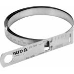 Juostinis matavimo įrankis | diametrui ir perimetrui | maks. 60 / perimetras 950 mm (YT-71700)