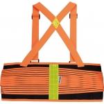 Apsauginis juosmens diržas su petnešom | Ryškiai oranžinis | XL dydis (YT-74241)