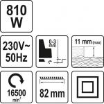 Elektrinis oblius | 810 W (YT-82141)