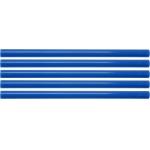 Karštų klijų lazdelių rinkinys 11,2x200mm 5vnt. mėlynos (YT-82435)