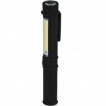 Žibintuvėlis 1.5W COB LED+1WLED, pen, su elementais (L1004)