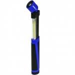 Žibintuvėlis 2W COB LED+0.5WLED, pailginamas su elementais (L1008)