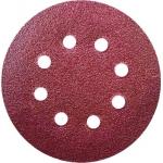 Šlifavimo diskas 125mm, GR80, lipukas, kompl.,5 vnt., (DED79472)