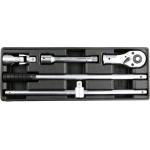 """Įrankių rinkinys į vežimėlius - įrankių rinkinys 3/4"""" galvutėms (YT-55458)"""